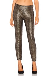 Amuse Society Gold Dust Pant Metallic Gold
