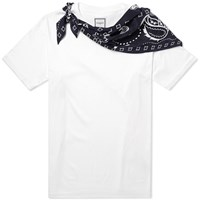 Wooyoungmi Pop On Bandana Scarf Tee White
