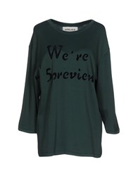 5Preview Sweaters Emerald Green