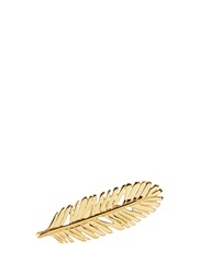 Philippe Audibert 'Zunis' Feather Ring Metallic