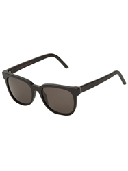 Retro Super Future 'People Black Matte' Sunglasses