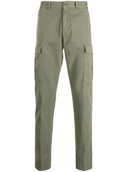Eleventy Trimmed Tapered Leg Cargo Trousers 60