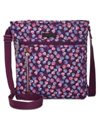 Vera Bradley Lighten Up Travel Ready Small Crossbody Berry Burst