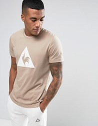 Le Coq Sportif Brown T Shirt With Large Logo In Brown 1711091 Brown