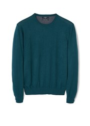 Mango Tenc Cotton Cashmere Blend Sweater Green