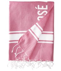 Hat Attack Statement Beach Throws Rose All Day Pink Scarves