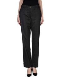Blu Byblos Trousers Casual Trousers Women Steel Grey