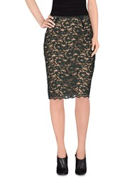 Jo No Fui Skirts Knee Length Skirts Women Green