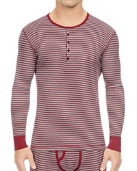 2Xist 2 X Ist Stripe Long Sleeve Slim Fit Henley