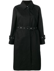 Mackintosh Belted Trench Coats Black