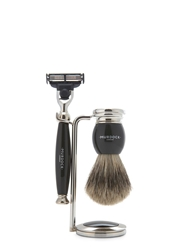 Murdock Turner Black Shaving Set