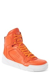 Men's Givenchy 'Tyson' High Top Sneaker Orange Leather