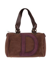 Dibrera By Paolo Zanoli Handbags Deep Purple