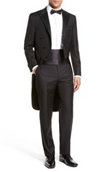 Men's Hickey Freeman Classic Fit Wool Tailcoat Tuxedo