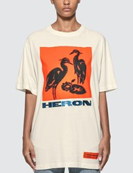 Heron Preston Herons Screenprint T Shirt White