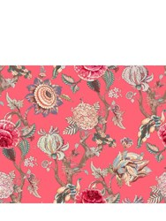 Simone Guidarelli Secret Garden Coral Wallpaper Multicolor