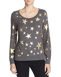 Chaser Metallic Star Tee Black
