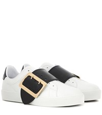 Burberry Westford Leather Sneakers White