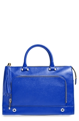 Milly 'Astor' Leather Tote French Blue