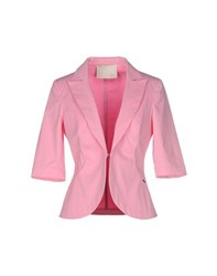 Blu Byblos Suits And Jackets Blazers Women Pink