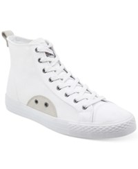 Guess Men's Perio High Top Sneakers Men's Shoes White