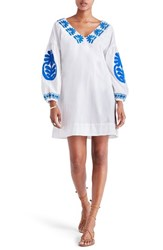 Madewell Women's Embroidered Applique Shift Dress