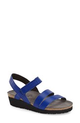 Naot Footwear Women's Naot 'Kayla' Sandal Royal Blue Leather