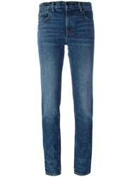 Alexander Wang Slim Fit Jeans Blue