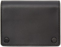 Alexander Wang Black Leather East West Card Holder
