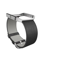 Fitbit Blaze Black Leather Accessory Band Large