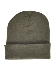 The Idle Man Original Beanie Green Khaki