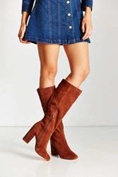 Urban Outfitters Rita Tall Heeled Boot Brown