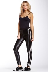 Dex Faux Leather Legging Black