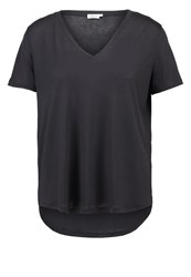 Filippa K Basic Tshirt Coal Anthracite