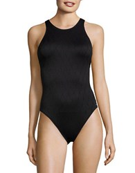 Vince Camuto Tahiti Texture One Piece Swimsuit