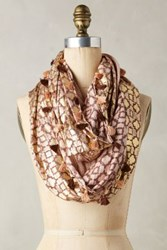 Anthropologie Giza Infinity Scarf Pink