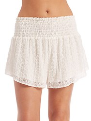 L Space Summer Of Love Shorts Cream