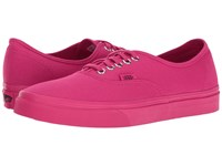 Vans Authentic Mono Rose Red Skate Shoes Pink