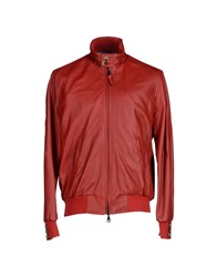 Jacob Cohen Jacob Coh N Coats And Jackets Jackets Men Red