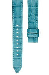 Michael Kors 'S Access Sofie 18Mm Leather Watch Strap Blue