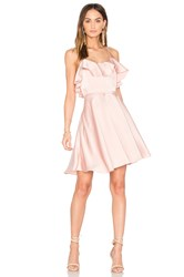 Endless Rose Ruffled Fit And Flare Dress Pink
