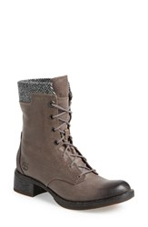 Women's Timberland Earthkeepers 'Whittemore' Lace Up Boot Grey Harris Tweed Leather