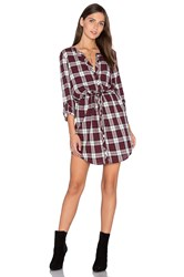 Soft Joie Cassina Dress Burgundy