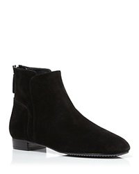 Delman Booties Myth Suede Black Country