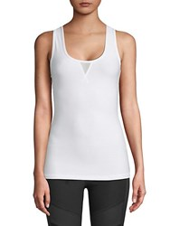X By Gottex Power Mesh Muscle Tank Top Nude