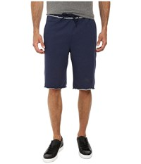 Puma 12 Sweat Bermuda Peacoat Heather Men's Shorts Gray