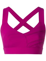 No Ka' Oi Cropped Sports Bra Pink