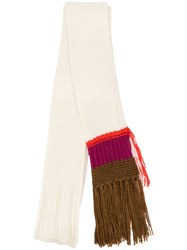 Dorothee Schumacher Off Limits Scarf White