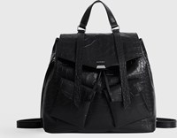 Allsaints Polly Mini Leather Backpack Black
