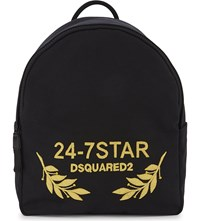 Dsquared2 Acc D2 Bag Backpack 24 7 Star Nero